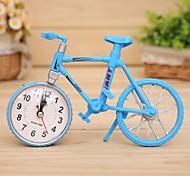 decoração de moda relógio modelo de bicicleta alarme