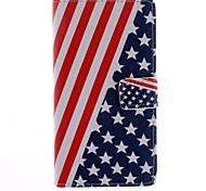 Para Funda HTC Soporte de Coche / Cartera / con Soporte / Flip Funda Cuerpo Entero Funda Bandera Dura Cuero Sintético HTC