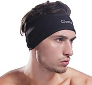 Men's Black Thermal Fleece Protective Headband Warmer