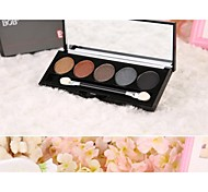 5 color Eye Shadow Palette with Free Brush
