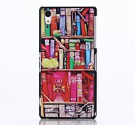 Fashion Design Pattern Plastic Hard Case for Sony Xperia Z2