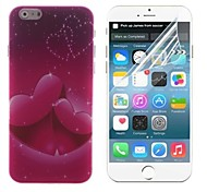 Mutual Affinity Design Hard With Screen Protector Cover for iPhone 6