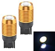 t20-H1W 9W 600lm 6500k Hochleistungs-LED weißes Licht Auto Rückfahrscheinwerfer / Nebelscheinwerfer (2 Stück / 12v)