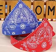 triangle écharpe de haute qualité pour les chiens de compagnie (couleurs assorties) Largeur: 1.0cm