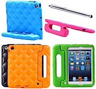 Kids EVA Cover Case Thick Foam Shock Proof Soft Stand Case for iPad mini 1/2(Assorted Colors)