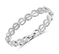 Roxi® Silver E Shape Bracelet