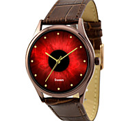 Customized JUST2YOU Citizen Movement Red Pupil Watch