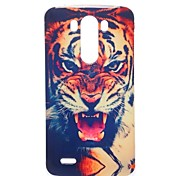 Fierce Tooth Pattern TPU Soft Case for LG G3