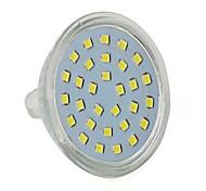 5W Focos LED MR16 30 SMD 2835 350 lm Blanco Fresco Decorativa AC 100-240 V