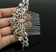 Women's/Flower Girl's Rhinestone/Alloy/Cubic Zirconia Headpiece - Wedding Hair Combs