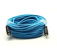 15M Gold-Plated 3.2FT 3.5mm Male to Female Extension Audio Connection Cable