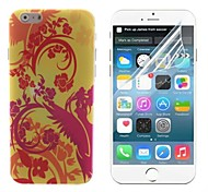 The Bird and Tree Design Hard with Screen Protector Cover for iPhone 6