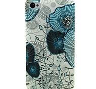 Lotusblatt-Muster-TPU weiche Tasche für iPhone 4 / 4S