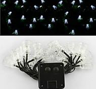 sor-20-24 solar lámpara de energía campana vacaciones cadena decoración cadena patio con jardín luz 20LED 4.8m