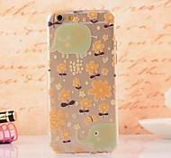 Elegant Design  Pattern  TPU  Soft Cover for iPhone 6