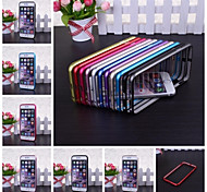 Wkae® Metal Bumper Frame Case for iPhone 6(Assorted Colors)