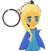 Lovely Cartoon Silicone Keychain