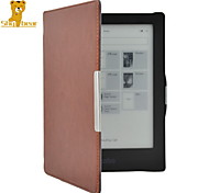 Shy Bear™ Original Smart Protective Leather Cover Case for Kobo Aura HD 6.8 Inch Ebook