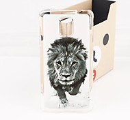 The Powerful  Lion Plastic Hard Back Cover for Samsung Galaxy Note 4