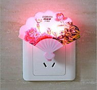 Creative Plug-In Electric Fan LED Night Light(Random Color)