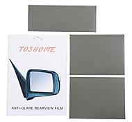 """toshome film anti-éblouissement pour intérieur extérieur Rétroviseurs série bricolage (9,84 """"* 3,93"""" * 1pc, 7,87 """"*"""" * 5,9 2pcs)"""