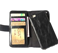 Fashion PU Leather Full Body Cases with Credit Card Slot  for iPhone 6 Plus(Assorted Colors)