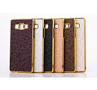 Snakeskin Grain Pattern Plastic Cover for Motorola for Samsung Galaxy A5(Assorted Colors)