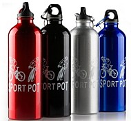 New Portable Camping Bicycle Sports Aluminum Alloy Water Bottle