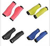 Bicycle MTB Bike Lock-on Comfort Rubber Handlebar Hand-Stitched Grips