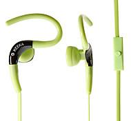 ka-34 de 3,5 mm de estilo de alta calidad auriculares de botón bajo pesado para el iphone iphone 6 6 más
