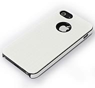 dual pc + material de TPU caso de la rejilla para el iphone 5 (colores surtidos)