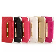4.7 Inch Diamond Pattern Genuine Leather Wallet Leather Case for iPhone 6(Assorted Colors)