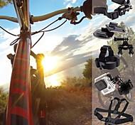 Outsports kit determinado de equitación deportes de bicicleta para GoPro Hero 2/3/3 + / 4
