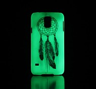 Dreamcatcher Pattern Glow in the Dark Hard Case for Samsung Galaxy S5