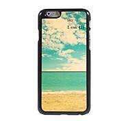 Sky I Can Fly Design Aluminium Hard Case for iPhone 6 Plus