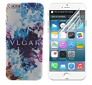 Graffiti Design Hard with Screen Protector Cover for iPhone 6 Plus