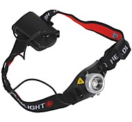 Cycling 500 Lumens 1x Cree Q5 LED Zoom Headlamp (3 x AAA Black)