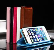 elegant pu Ledertasche für iPhone 5 / 5c / 5s (farblich sortiert)