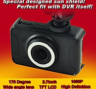 "2.7"" LCD Full HD 170° 1080P Car Camera DVR Camcorder  Motion Detection File Locking  ISHARE HCR-3551"