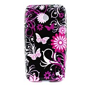 Pink Butterly TPU Solf Cover for Nokia Lumia 630/635