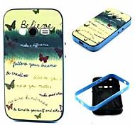Para Funda Samsung Galaxy Antigolpes / Diseños Funda Cubierta Trasera Funda Palabra / Frase TPU Samsung Ace 4
