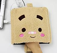 riscaldata creativo piazza volto cartone animato modello USB Warmer mano mouse più caldo