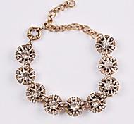JANESTONE Women's Fashion Flower Statement Bracelets