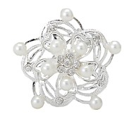 Fashionable Flower Brooch (Random Color)