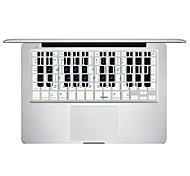 XSKN venció notas la piel cubierta de película protectora del teclado para MacBook Air / macbook pro / macbook pro retina
