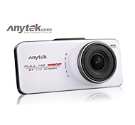 anytek® dvr del coche FHD 1080p 2.7 pulgadas con wdr 170 grados vista gran angular