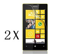 [2-Pack]Professional High Transparency LCD Crystal Clear Screen Protector with Cleaning Cloth for Nokia Lumia 520