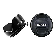 Shunyi 52mm Camera Lens Hood for Nikon with Lens Cover