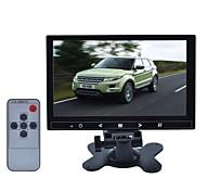 9 pouces TFT LCD voiture reposer / appuie-tête bouton tactile moniteur - noir