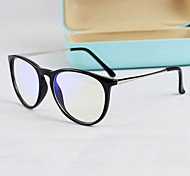 [Free Lenses] Metal Wayfarer Full-Rim Retro Prescription Computer Eyeglasses